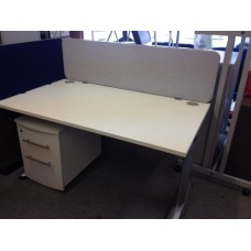 Desk Mounted screens / dividers 1400mm x 380mm