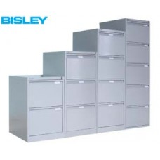 Bisley BS2E 2 drawer filing cabinet         New
