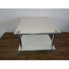 Steel Roller Coffee Table